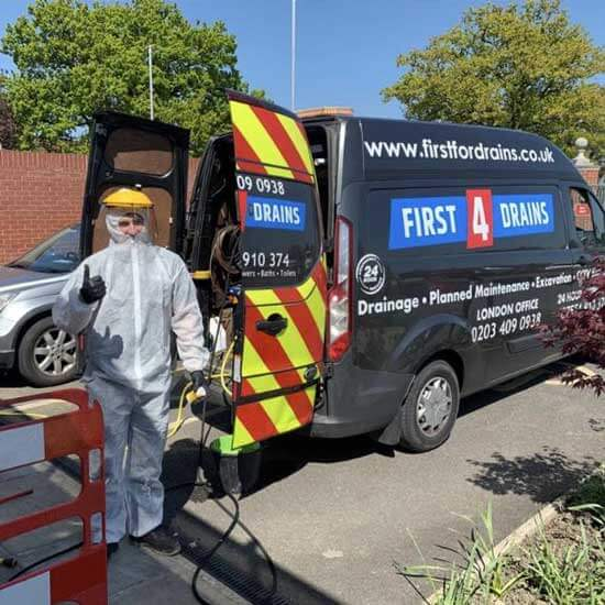 First 4 Drains LTD - About Our London Drainage Company