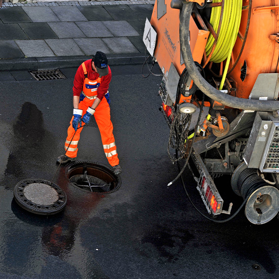 Sewage System Cleaning
